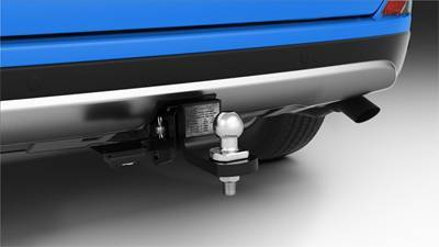 Tow Bar, Tow Ball and Trailer Wiring Harness (each sold separately)