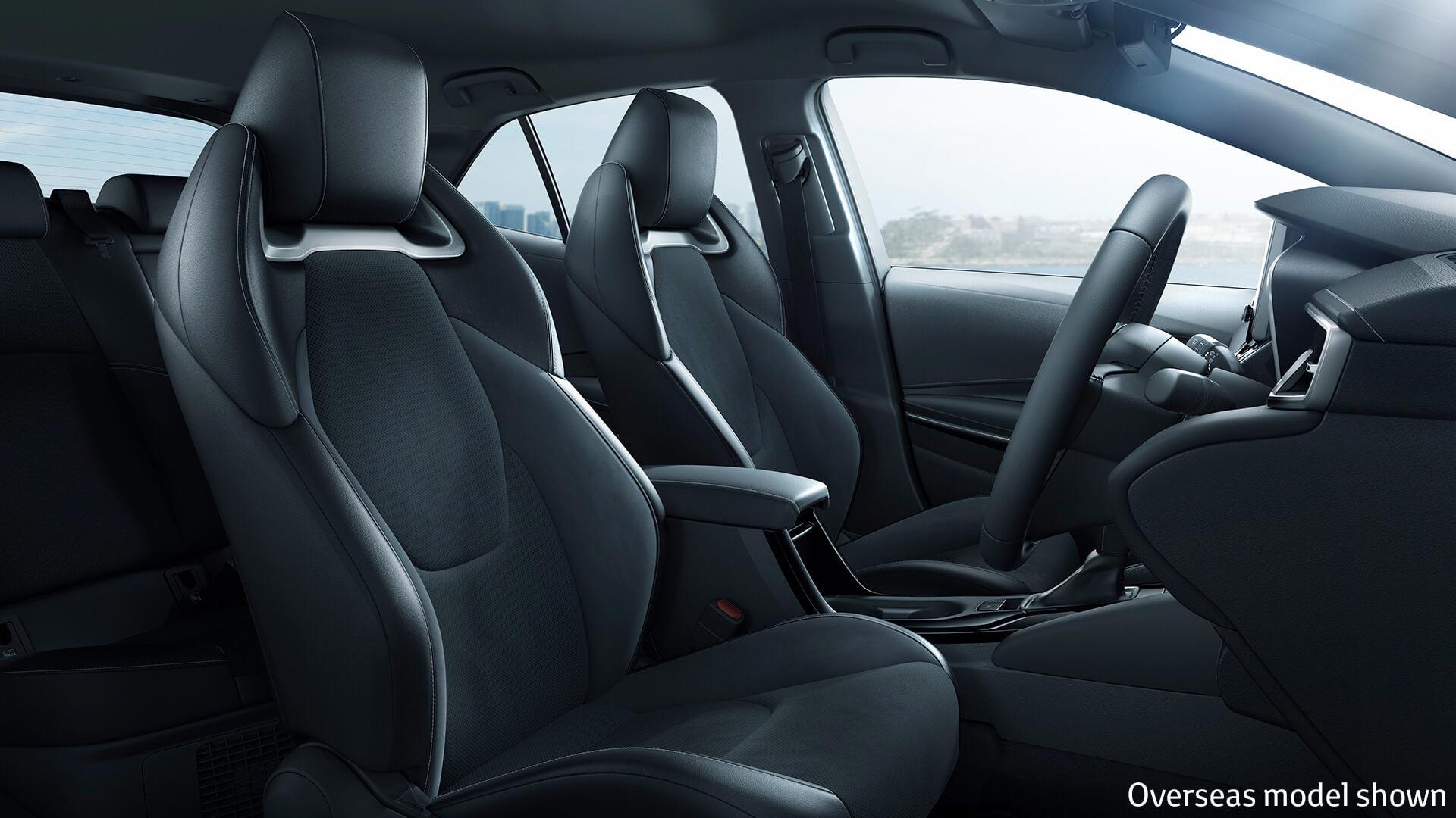 All New Corolla Interior
