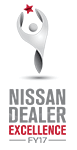 Nissan Dealer Excellence Logo