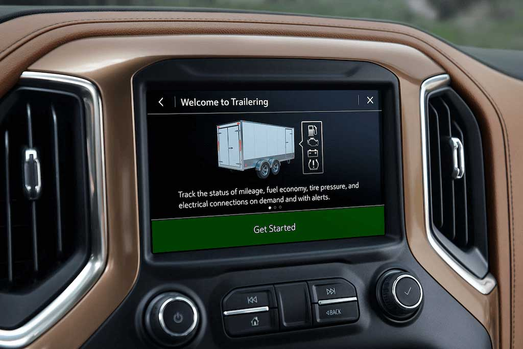 In-Vehicle Trailering App