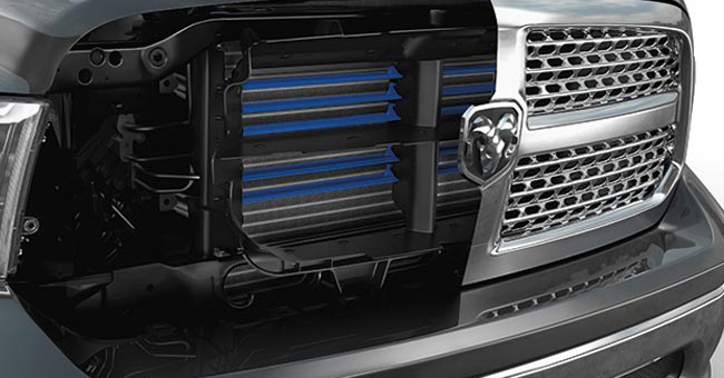 Ram 1500 Active Grille Shutters Design