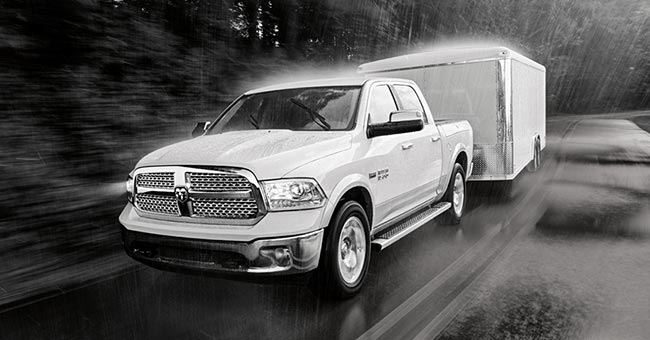 Ram 1500 Active Grille Shutters On the Road