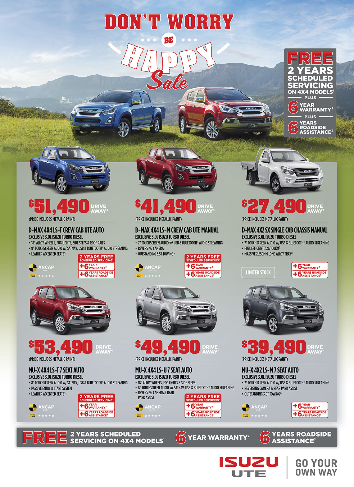 Isuzu-offer