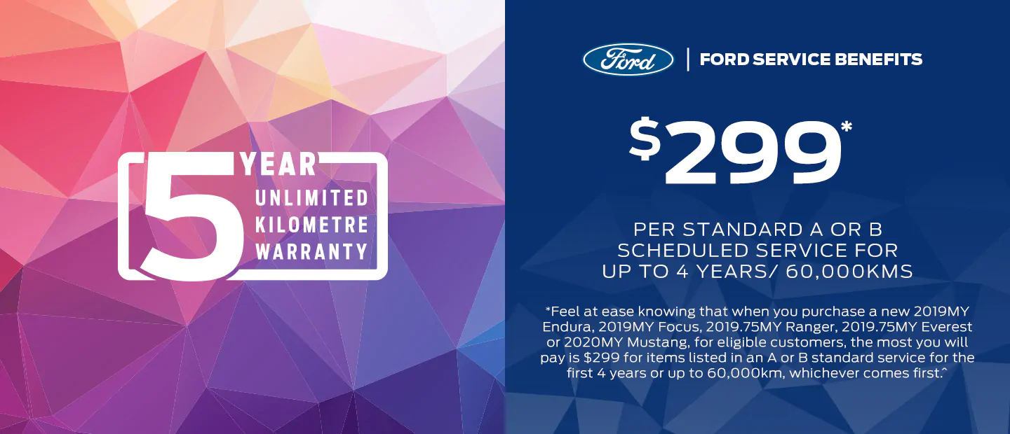 Ford service benefits