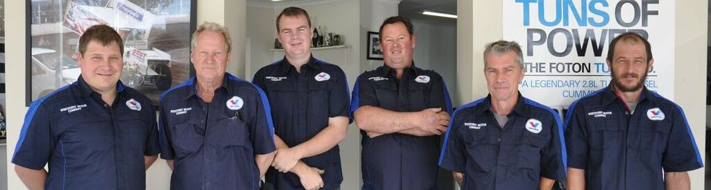Service Team Westpoint Motor Company