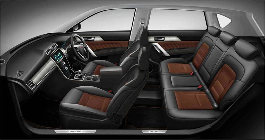 H2 Black-Brown Interior