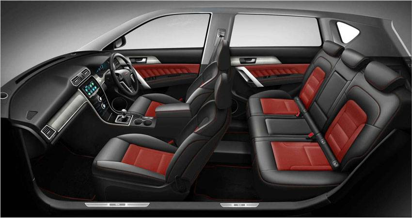 H2 Red-Black Interior