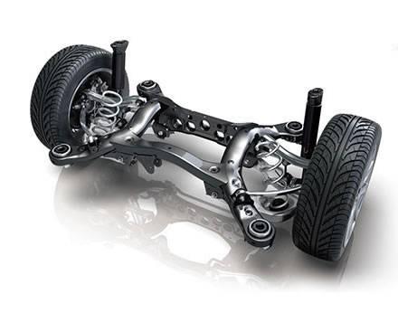 H8 Rear Suspension