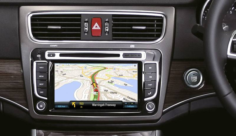 "8"" Touchscreen & GPS Image"