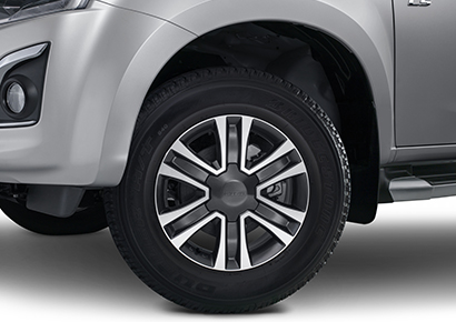 "Two-Tone 17"" Alloy Wheels"