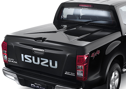 Lockable 1 Piece Hard Tonneau Cover