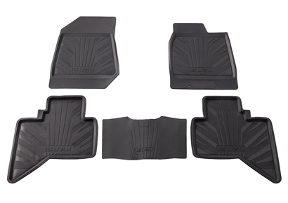 Rubber Floor Mats Set
