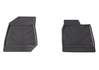 Rubber Floor Mats Set (Front Only)