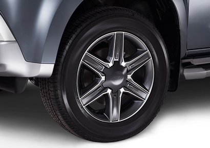"Two-tone 18"" Alloy Wheels"