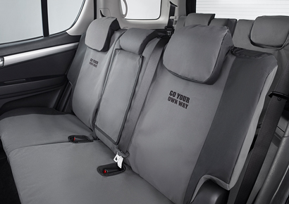 Canvas Seat Covers - Middle & Rear