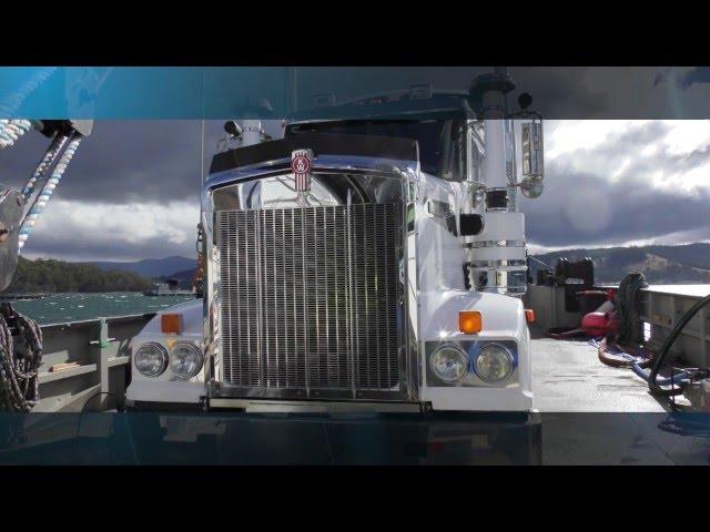 Kenworth T909 Truck - Kenworth DAF Hallam