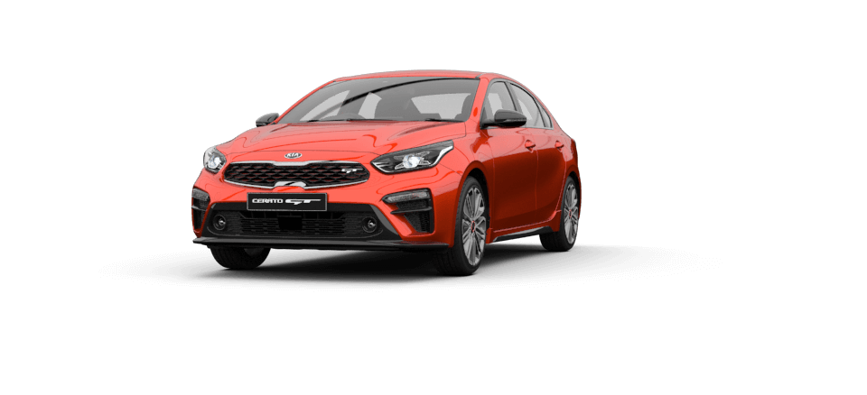Cerato Sedan Sunset Orange