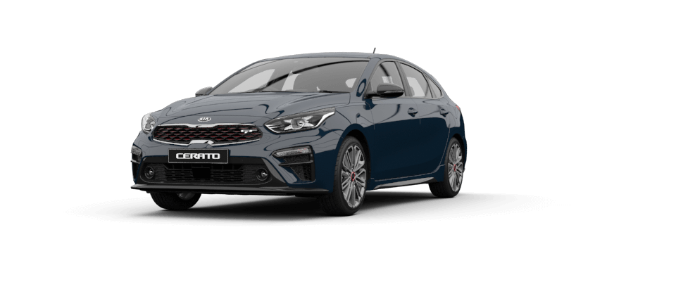 Cerato Hatch Gravity Blue