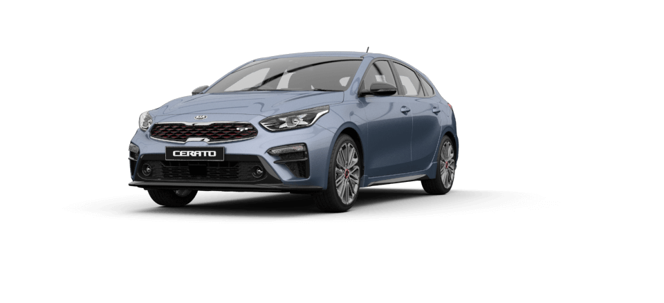 Cerato Hatch Horizon Blue