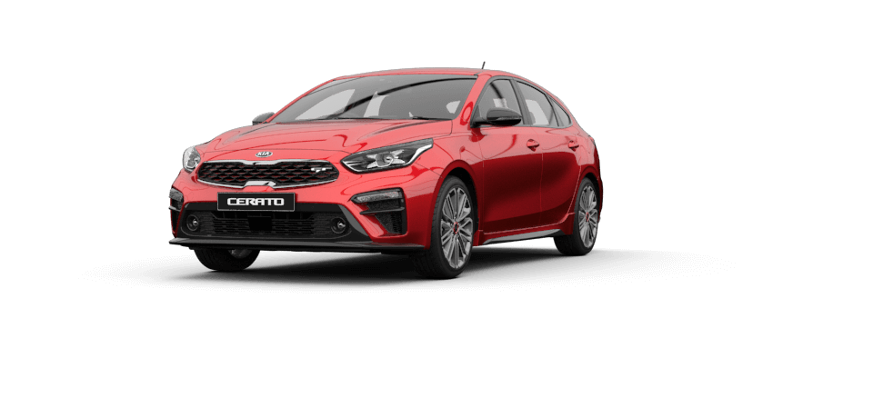 Cerato Hatch Runway Red
