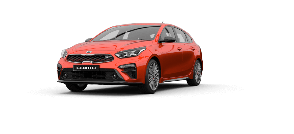 Cerato Hatch Sunset Orange