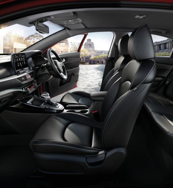 2019 Kia Rio Interior: Cerato Hatch