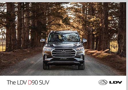 LDV D90 Suv
