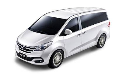 G10 Van White