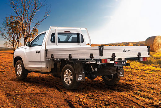 T60 Ute Cab Chassis