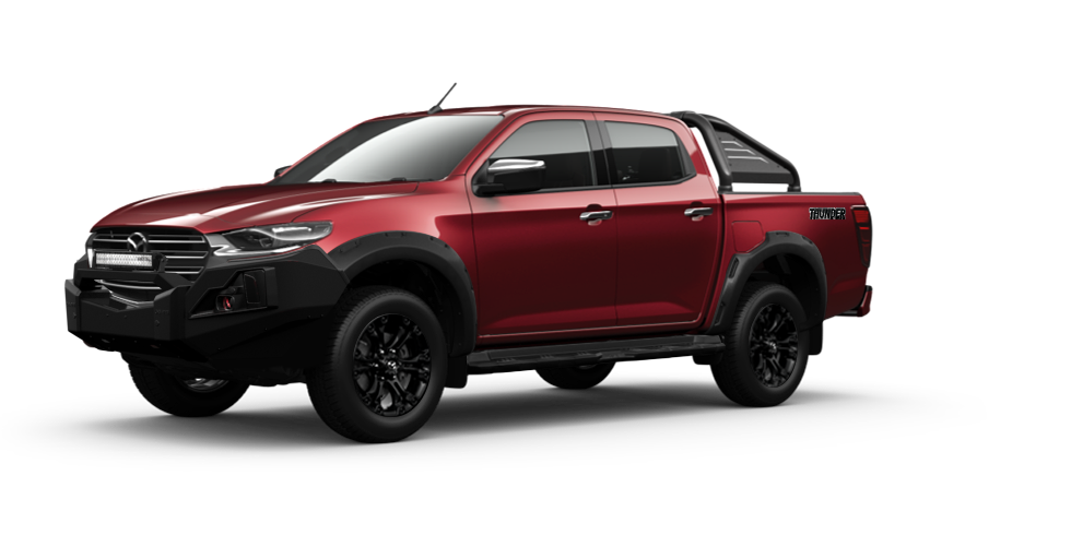 Mazda-BT-50 Red Volcano Mica