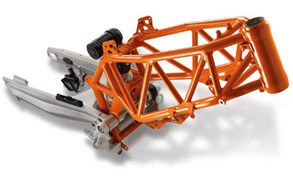 2018 ktm 690 enduro r. contemporary 2018 frame and swingarm inside 2018 ktm 690 enduro r