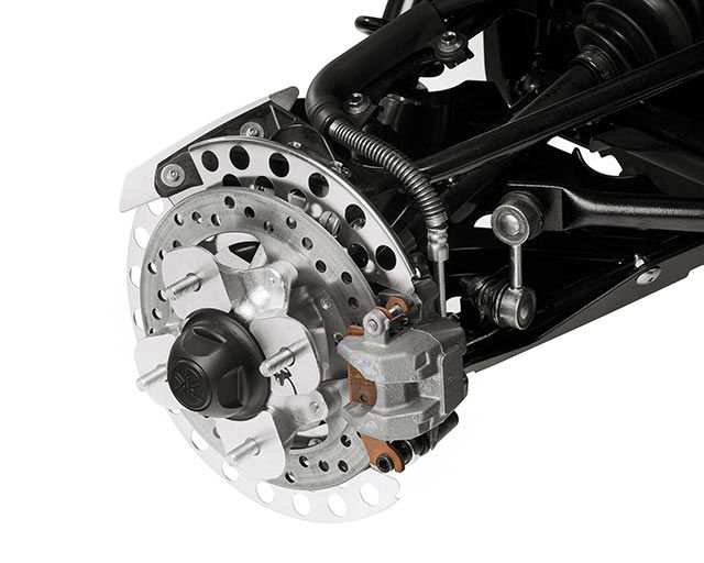 4-Wheel Hydraulic Disc Brakes