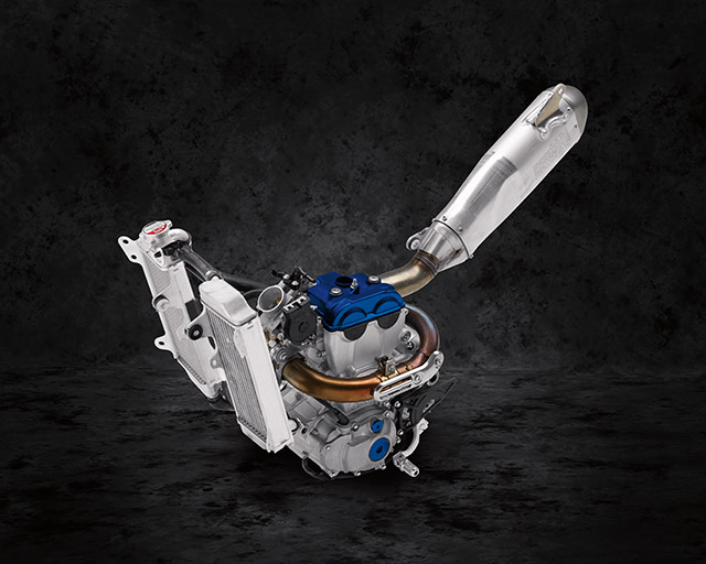250cc Liquid-Cooled DOHC 4-Valve Engine