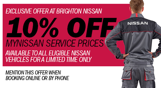 Brighton Nissan Servicing Offer