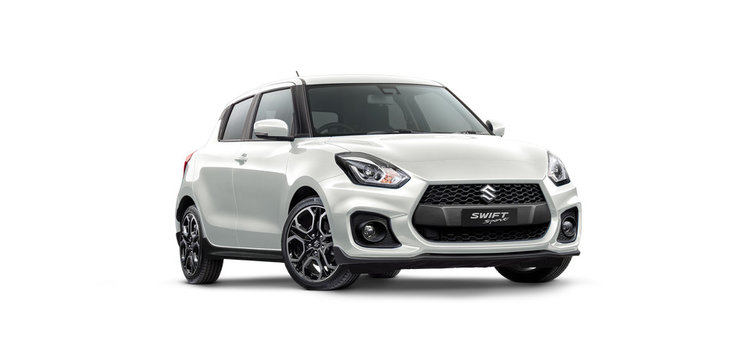Swift Sport Manual - Drive away from