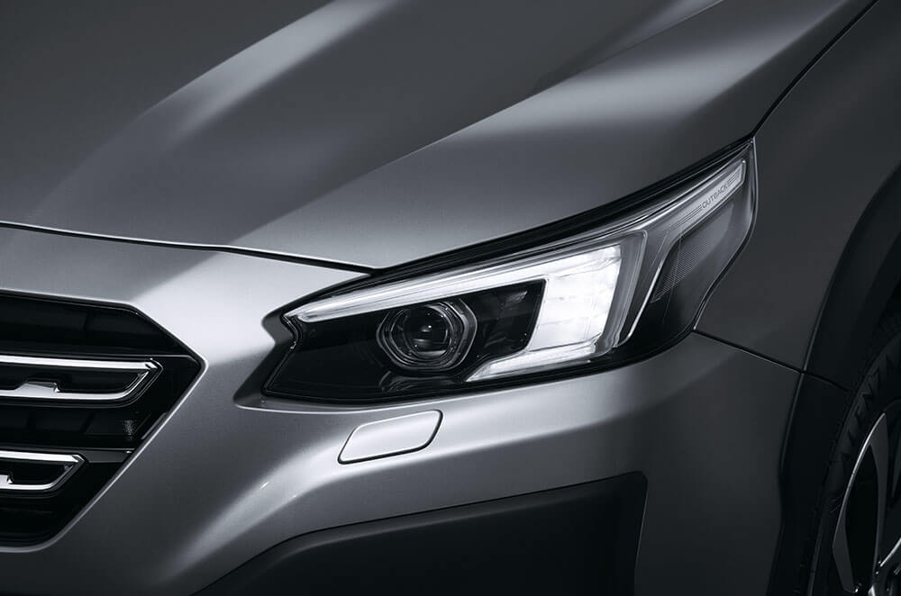 Integrated front LED turn signals and Daytime Running Lights (DRL)
