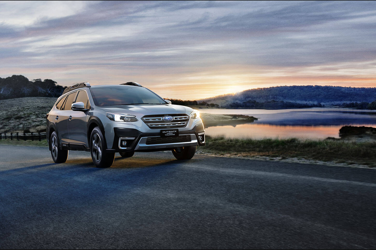 Subaru Outback AWD Touring shown