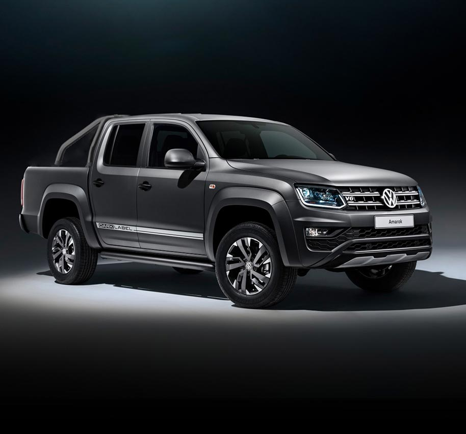 THE AMAROK V6 DARK LABEL SPECIAL EDITION