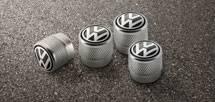 VW logo valve caps