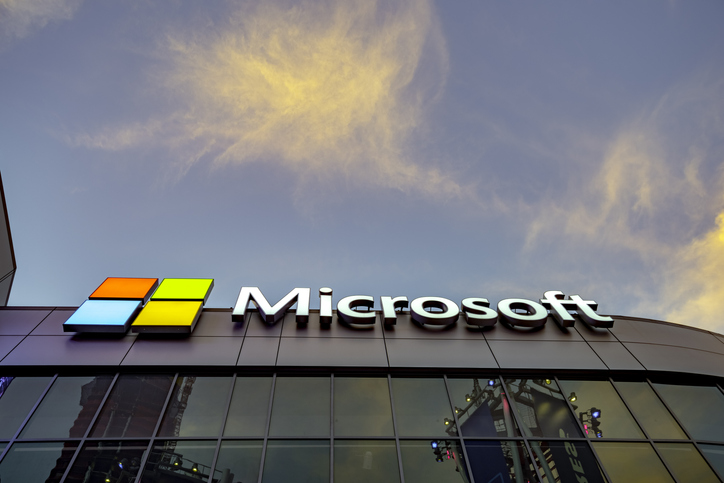 Microsoft Square in downtown Los Angeles USA.