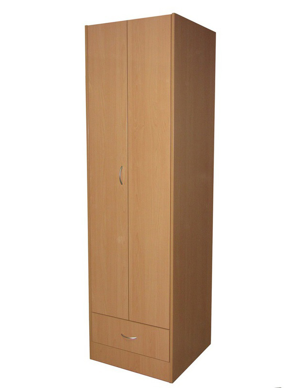 Bedroom Aged Care Cashmere bifold 1 Door Wardrobe