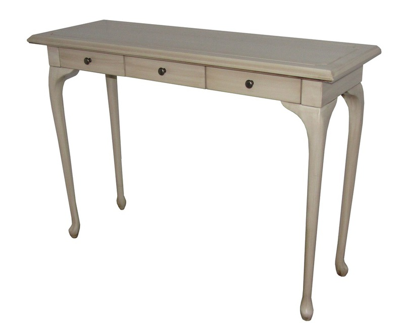 Marseille 3 Drawer Hall Table
