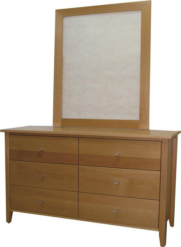 Otis 6 Drawer Dresser & Mirror