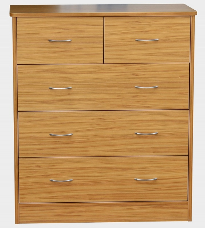 Bedroom Aged Care Denby 5 Drawer Chest