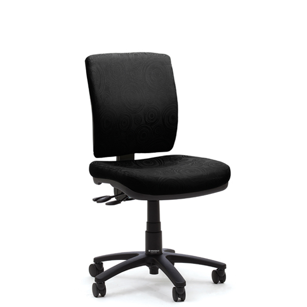 Office Aged Care Retirement Klick Midback Chair Front View