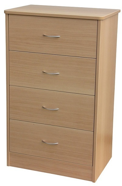 Bedroom Aged Care Denby 4 Drawer Chest