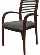 Dining Aged Care Retirement Gilda Arm Chair Slatted Back