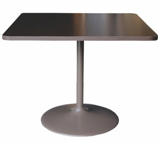 Vision Square Wineglass Pedestal Table
