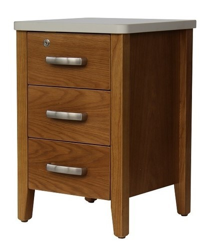 Bedroom Aged Care Anna 3 Drawer Bedside