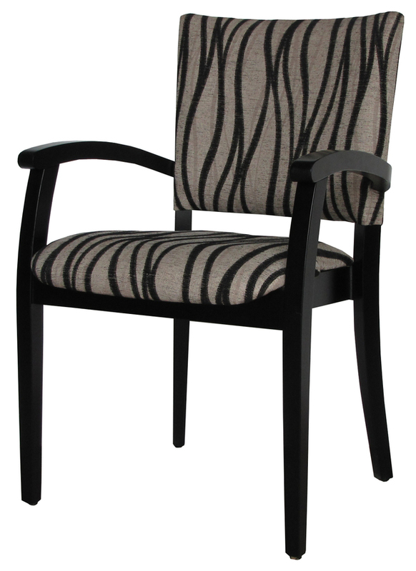 Dining Aged Care Retirement Marta B Fully Upholstered Back Arm Chair